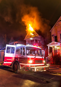 2nd alarm dwelling fire 159 Elm St. Orange, NJ 10/28/18