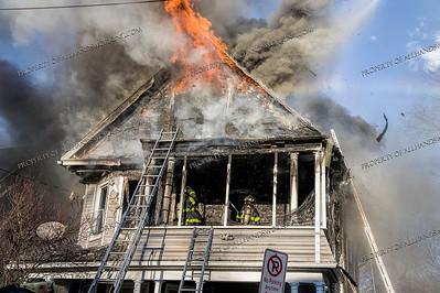 2nd alarm dwelling fire, 83 Blake St. New Haven, CT, 03/21/20