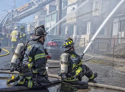 3 Alarm House Fire - 272 Federal St, Bridgeport, CT - 3/24/18