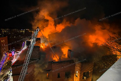 General Alarm Apartment Building Fire - 1 Garrett Pl, Yonkers, NY - 3/12/19