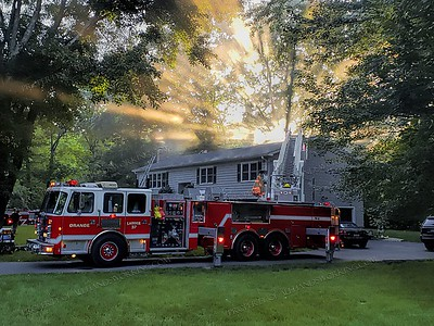 Kitchen Fire 469 Turkey hill Rd. Orange, CT 07-13-19