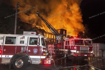 Multi Alarm Mill Building Fire - 725 Bank St, Waterbury, CT - 7/30/18