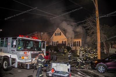 3 Alarm Dwelling Fire - 55 Benton St, New Haven, CT - 1/5/19