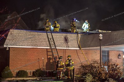 Roof Fire 410 Court St, West Haven, CT  - 12-01-18