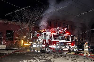 Vacant Building Fire - Front St, West Haven, CT - 4/2/18
