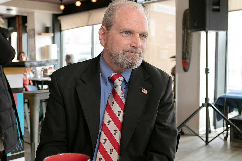 Glenn Fossa talked about pulling papers to run for Worcester 3rd District House of Represetatives seat Wednesday, March 4, 2020. SENTINEL & ENTERPRISE/JOHN LOVE