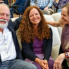 Jack Crocker, Poet Laureate; Lynn Neidermayer, Librarian; Beate Sigriddaughter, Poet Laureate (Photo by Cheryl Thornburg)