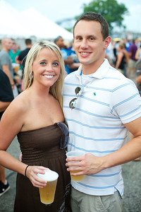 Shannon Niemeyer and Kyle Lenhoff of NKY at Goettafest on Saturday