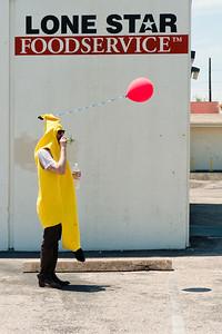 Banana Celebrates His Escape