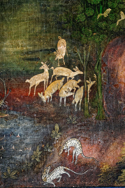 Detail of creatures in the mythical Himaphan Forest