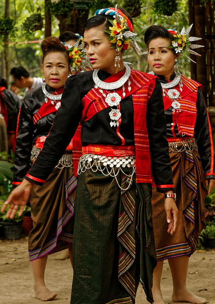 Originally a nomadic tribe, the Suay, in addition to Thai, speak a Mon-Khmer language that is distinct from Thai. Today, their highest concentration is in Sisaket Province.