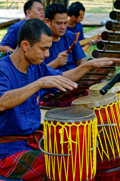 Traditional Isaan music is often quite vigorous, marked by a strong, pulsating rhythm.