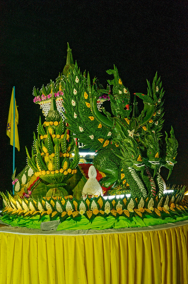 This float featured the Garuda, another creature from ancient Hindu and Khmer origins that is also Thailand's national symbol today.