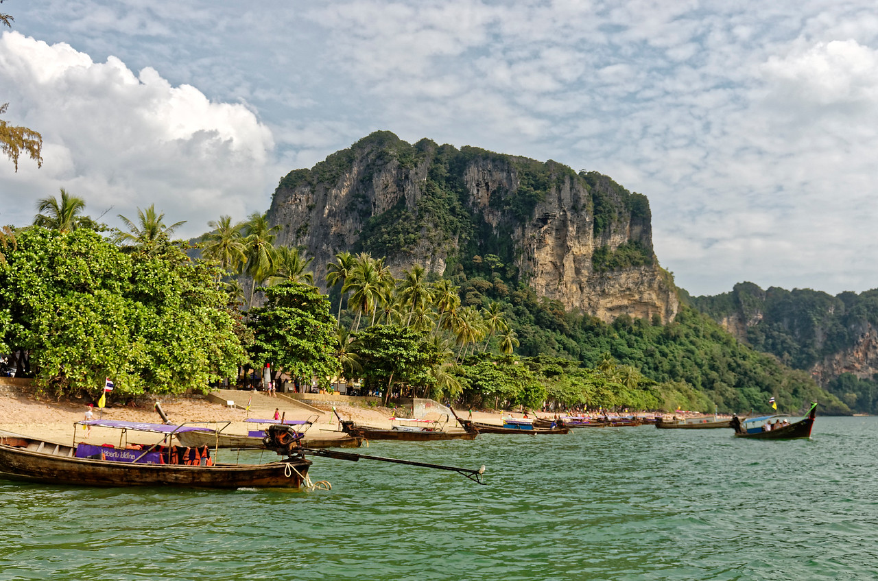 Returning to shore at Ao Nang