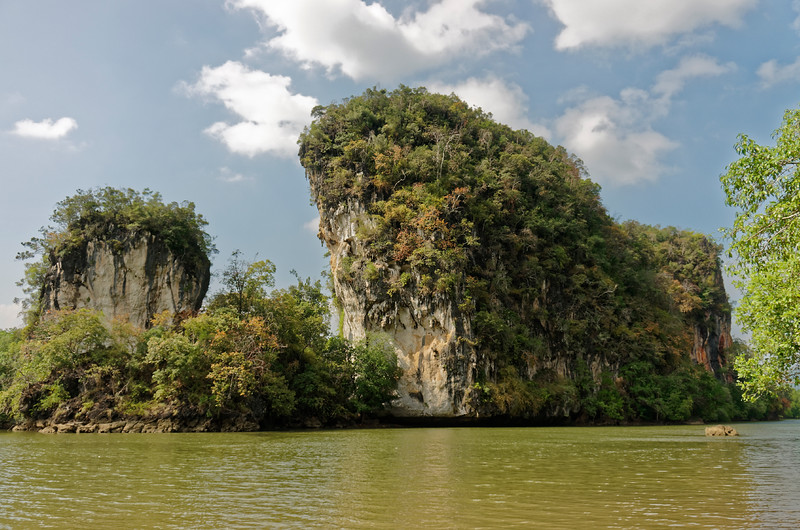 Limestone outcrops at Krabi