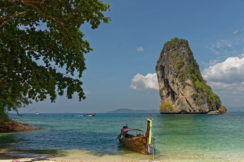 View from the island of Poda