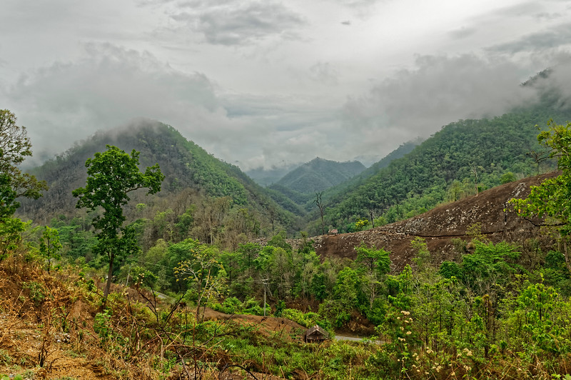 Mae Hong Son landscape