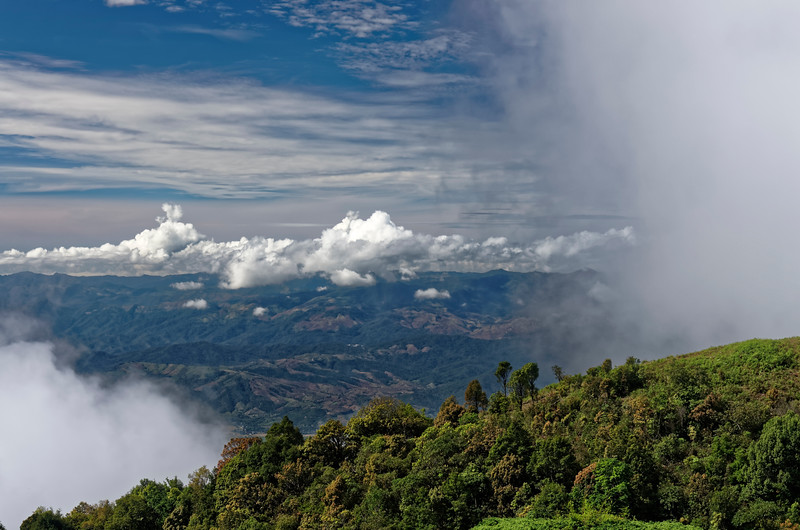 Another view from the top of Doi Inthanon, Thailand's highest mountain
