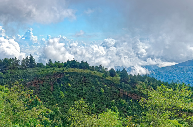 From the top of Doi Inthanon