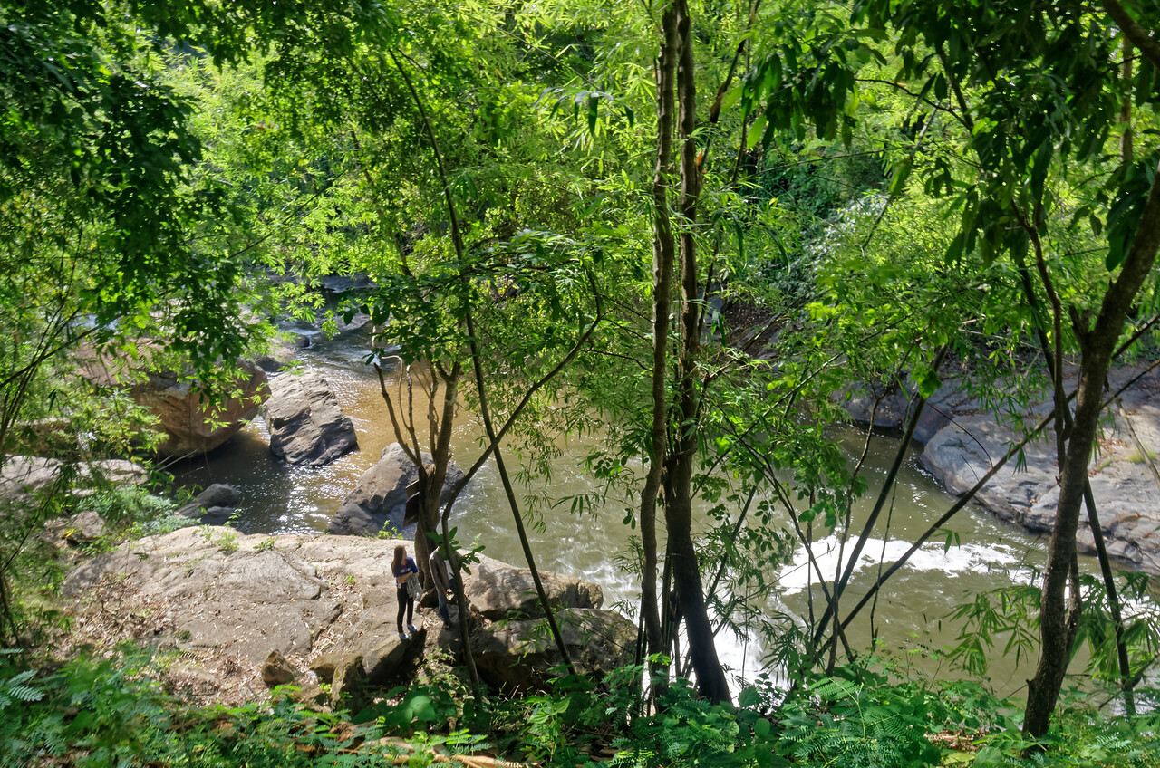 The river below Mae Klang Falls, on Doi Inthanon