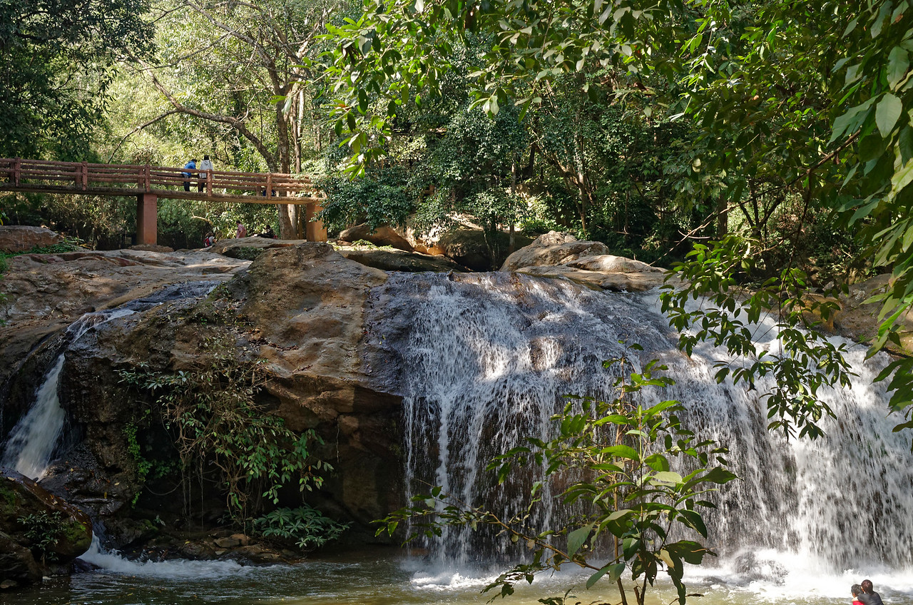 Mae Sa Waterfall, in Mae Sa Valley, just north of Chiang Mai