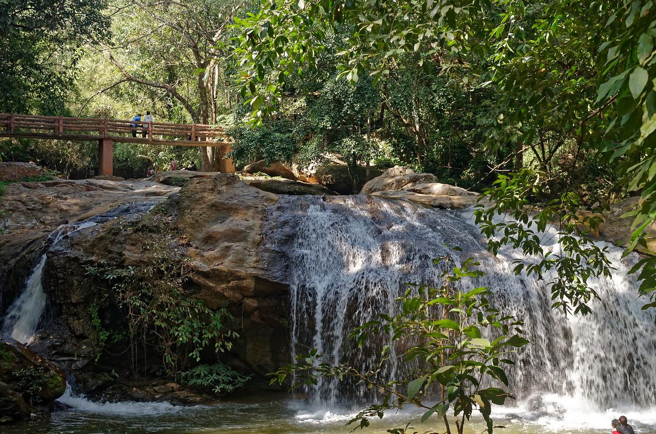 Mae Sa Waterfall, in Mae Sa Valley, just north of Chiang Mai
