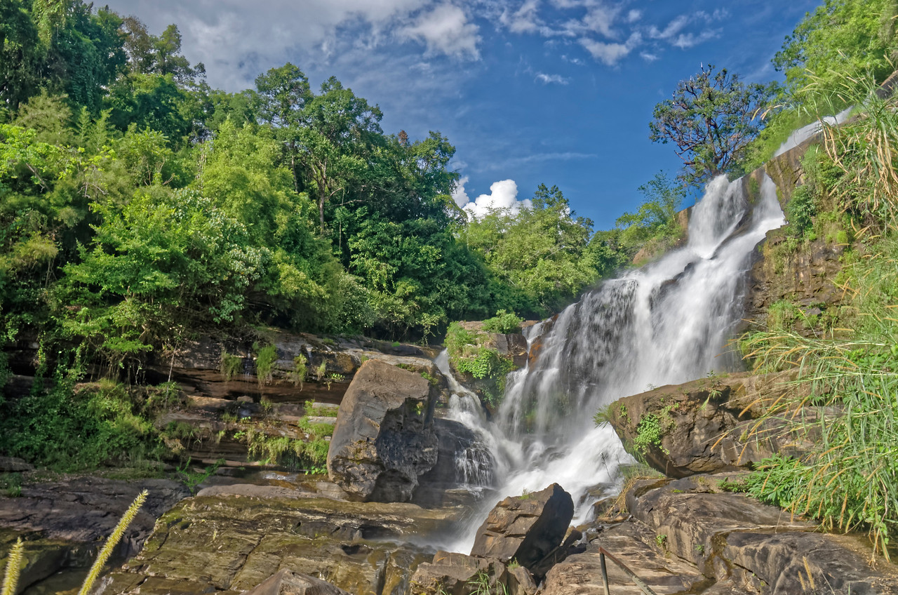 Mae Klang Falls, on Doi Inthanon
