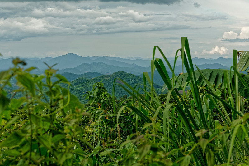 Mountainous landscape in Loei Province