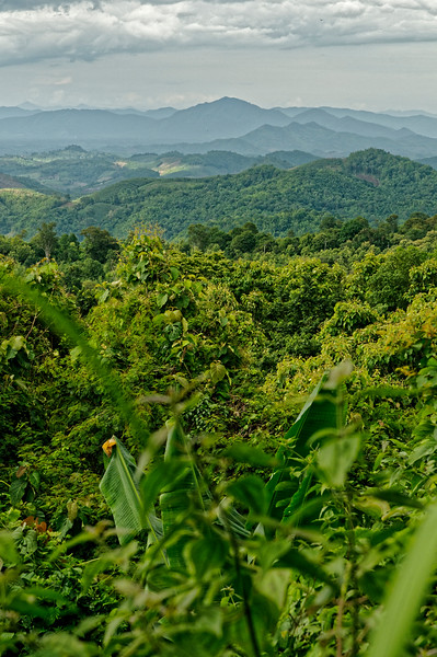 Loei Province. As one travels farther north across Isaan's Khorat Plateau, the flat landscape of the southern region increasingly gives way to rolling hills and mountainous terrain, with the higher altitudes making for cooler weather conditions as well.