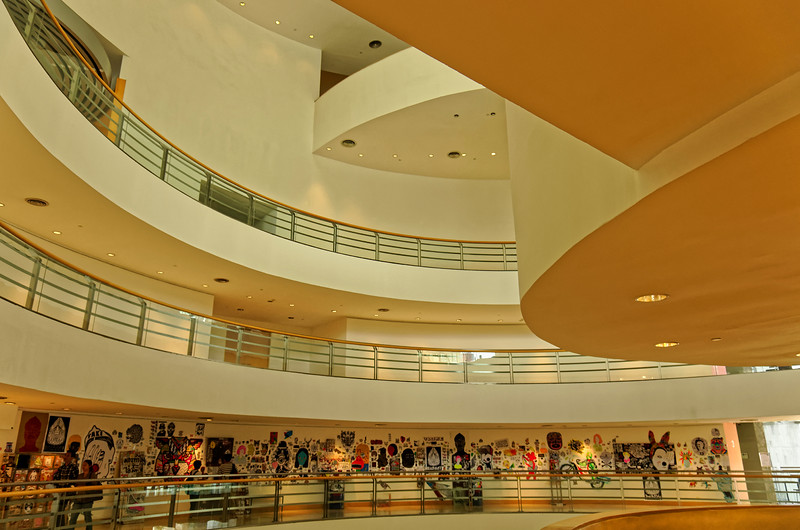Interior view of the Bangkok Art and Culture Centre