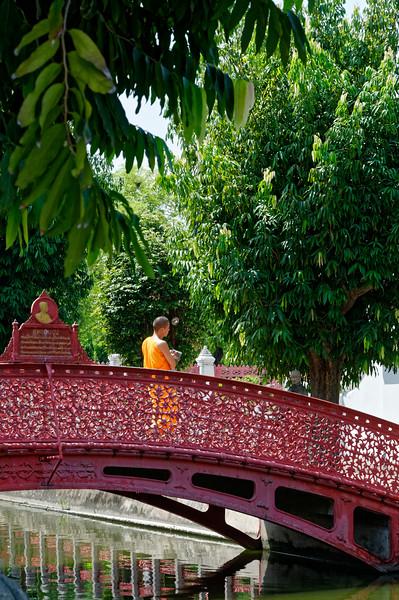A view within Wat Benchamobophit, Bangkok