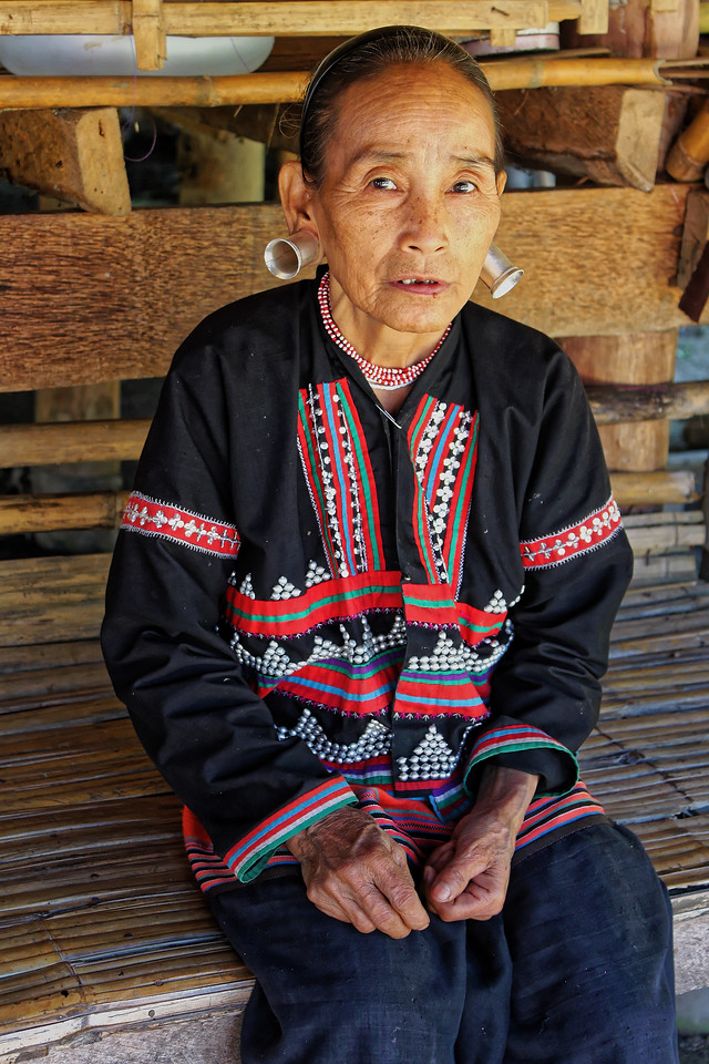 Yellow Lahu woman, Mae Sa Valley