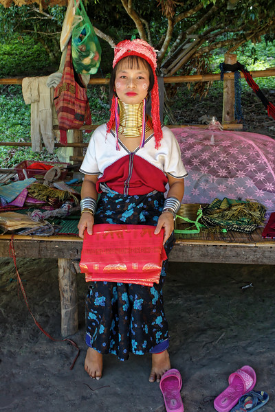 Paduang woman, Mae Sa Valley
