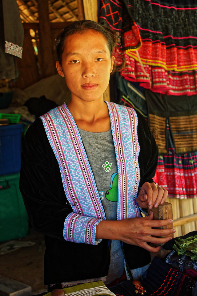 Hmong woman, Mae Sa Valley, near Chiang Mai