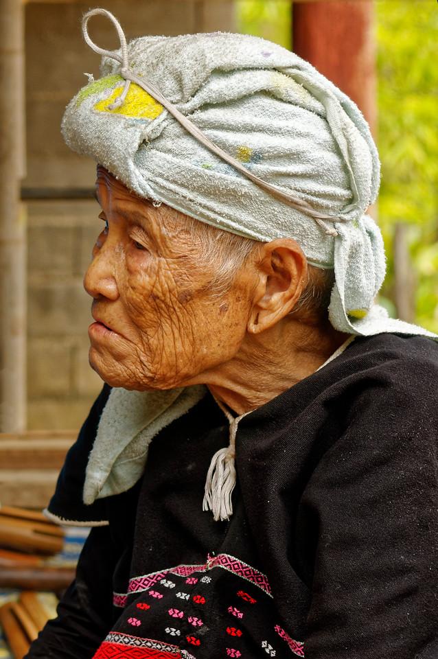 Karen woman, Ban Kariang, Mae Sa Kua