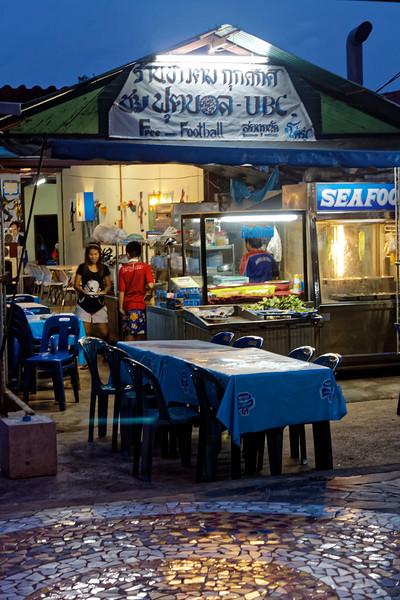 Seafood restaurant, Ao Nang