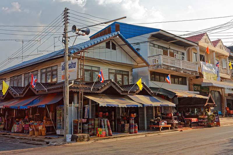 Main thoroughfare in Ban Chiang, northern Isaan