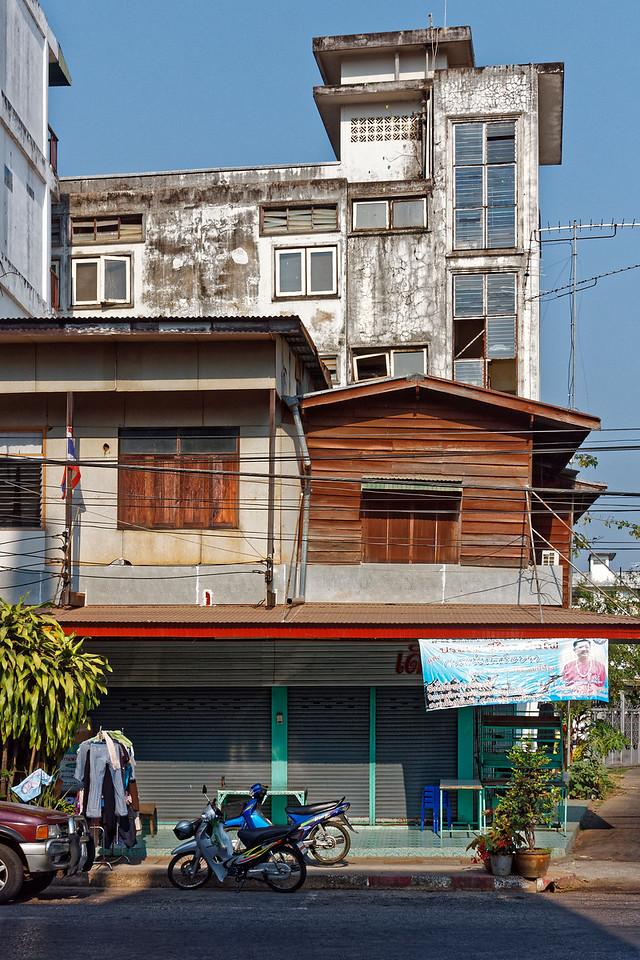 Street scene, Nakhon Phanom, northeast Thailand