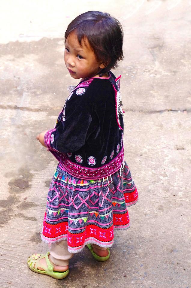 At the Hmong hill tribe village at Doi Pui, near Chiang Mai