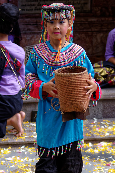 Young Hmong performer at Doi Suthep