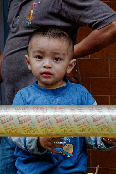 Youngster in Chinatown, Bangkok