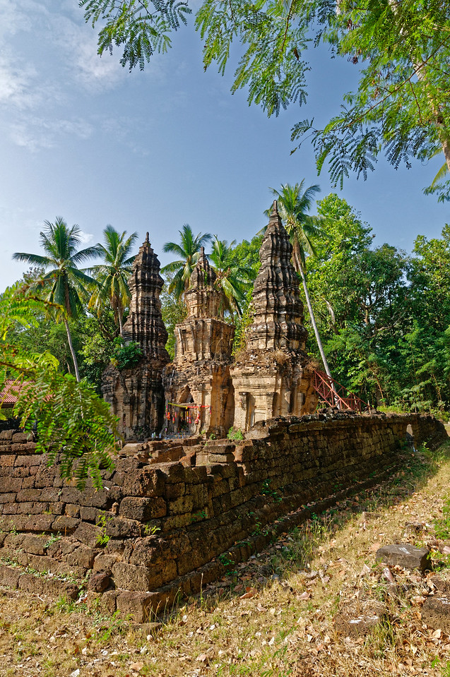 Prasat Ban Prasat at Huai Thap Than, Sisaket Province, was a Khmer sanctuary built between 958 and 1057 AD. Dedicated to the Hindu deity Shiva, it was later adapted to serve as a Mahayana Buddhist temple.