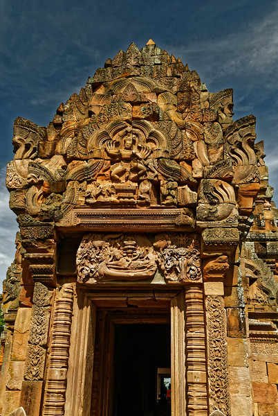 And one last look at the spectacular eastern face of the <i>mandapa</i>