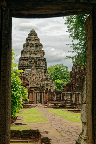 Another view from the southern <i>gopura</i>
