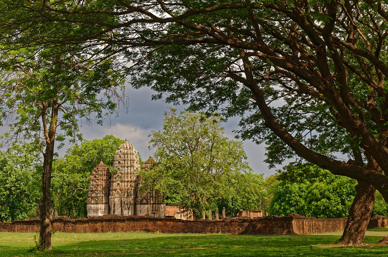 Wat Si Sawai from the west