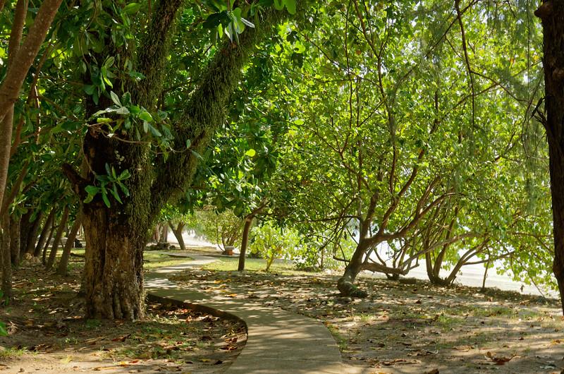 Along the shoreline at Ao Nang