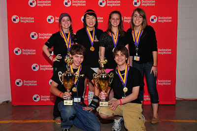 Keller High School, SPAM team, 999-10, winner: DI eXtreme combined results.