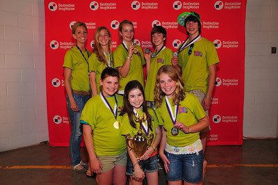 2nd Place, Middle Level, You're Gonna Flip:Kennedy Middle School, Colgate,WI. #148-53573