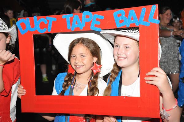 Scotch Duct Tape Costume Ball