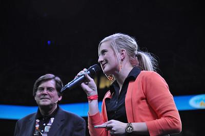 Britt Dyer and Chuck Cadle